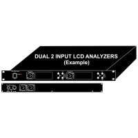 DMX Analyzer LCD 1RU Rack Mount