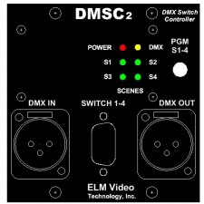 DMX Wall Switch Controller 2U Modular