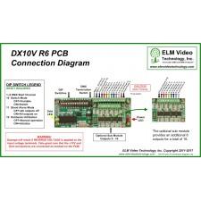 DMX 0-10 Volt Analog Converter PCB