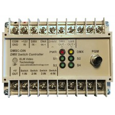 DMX Wall Switch Controller DIN/Wall Mount