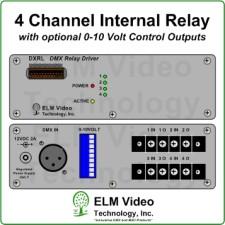 DMX Relay Driver w/ 0-10V Option