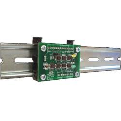 DMX Optical Input Splitter 1x8