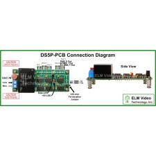 DMX Splitter 1x5 PCB w/ Power Supply Option