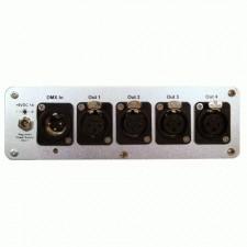 DMX Splitter 1x4 Optical Input