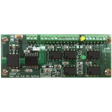 DMX Full Isolated Input Splitter 1x5 PCB