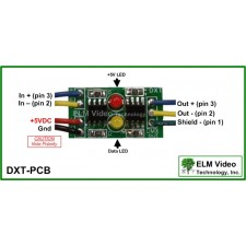 DMX In Line Buffer/Driver PCB