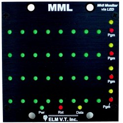 Midi Message LED Monitor